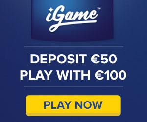 Igame 100% bonus do 1000€+50 free spinów bez depozytu po rejestracji Igame001111-300x250