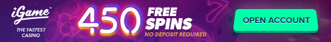 igame casino exclusive free spins no deposit